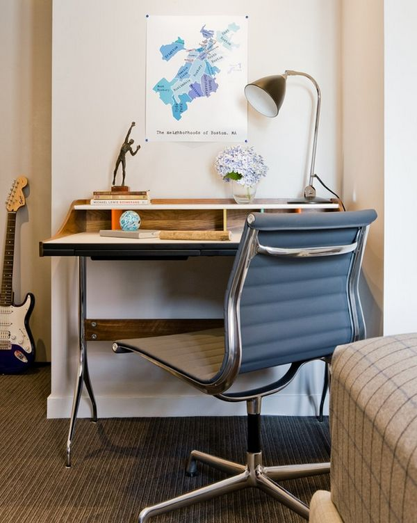 A Closer Look At The George Nelson Swag Leg Desk Iconic And Elegant Small Office Design