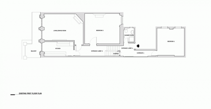 Existing First Floor Plan Design
