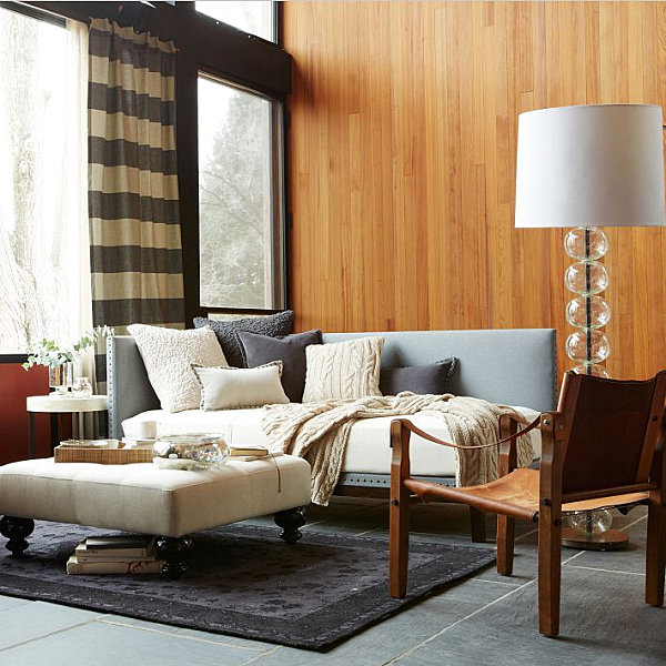 Floor Lamp With Glass Spheres Contemporary Standing Lamp Design