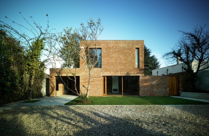 Front View Casa En Anville Trad Tional House In Dublin Beautiful Brick House Design