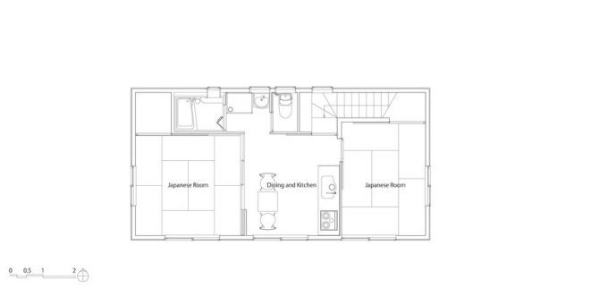 Japanese Home Upper Floor Plan