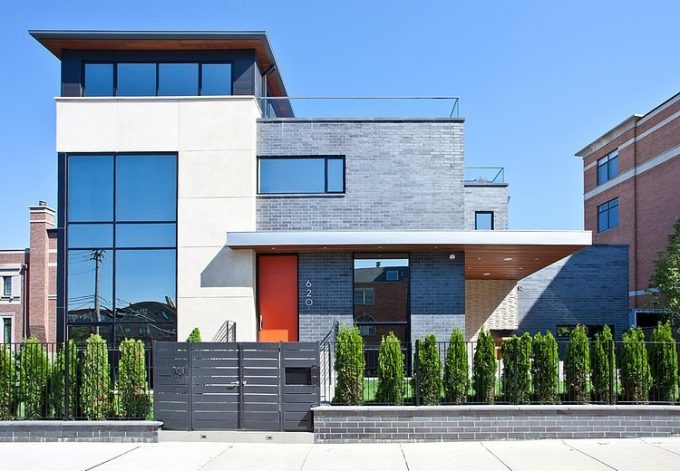 Lincoln Residence Modern House Design In Chicago's Tranquil Neighbourhoods