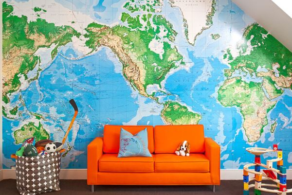 Maps Have Always Been An Integral Part Of The Nautical Theme Decor For Sea Lover