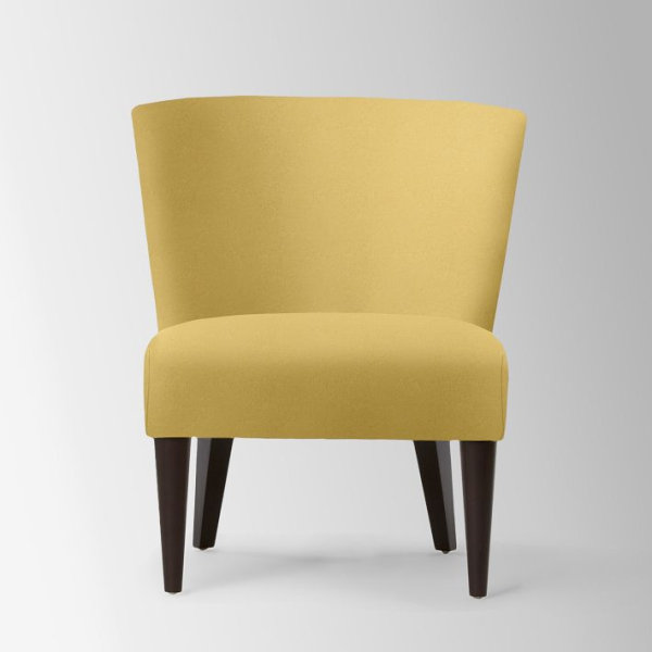 Mustard Yellow Chair Contemporary Couch Design