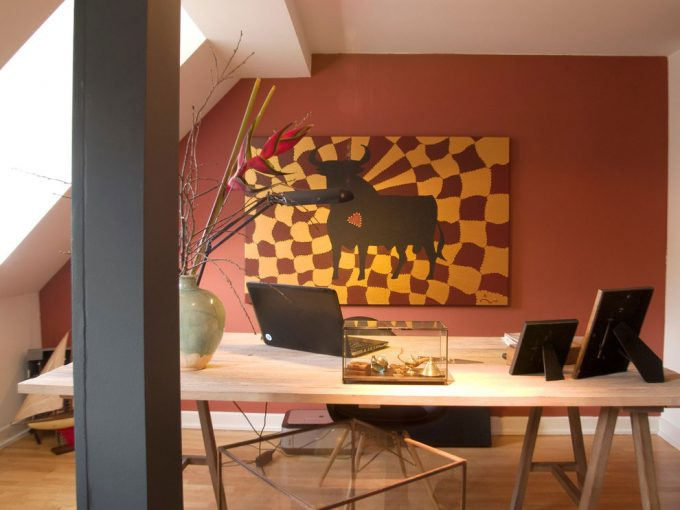 Office Details With Studio Design Simple And Dynamic Work Space Design