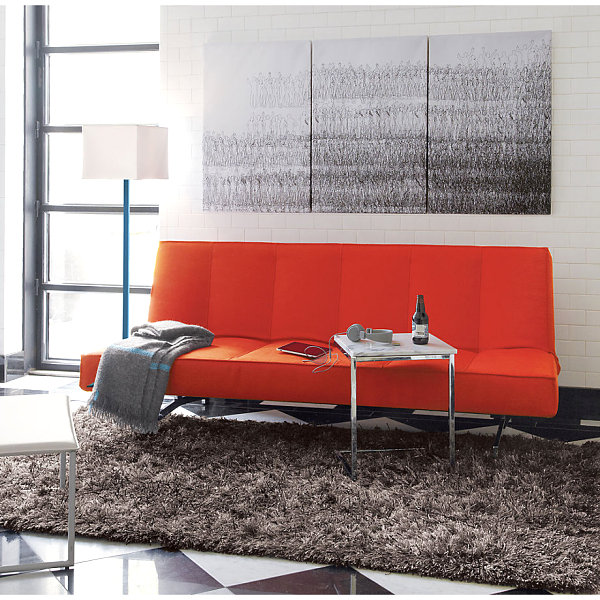 Orange Sleeper Sofa Elegant Sofa Design