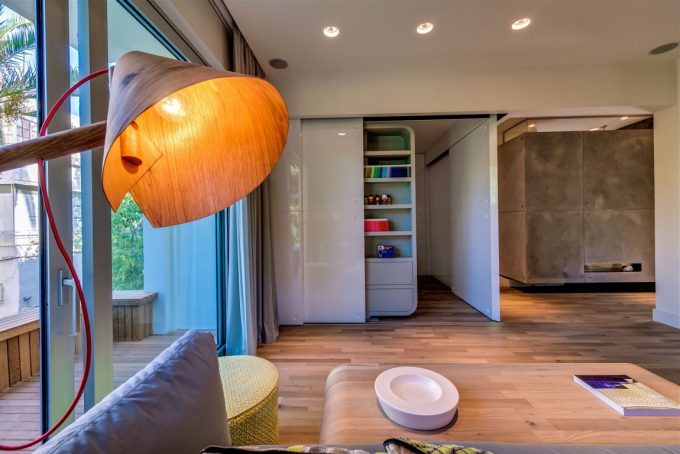 Rounded Corners Artistic Apartment Decoration Ideas