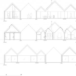 Sections Summer House Design