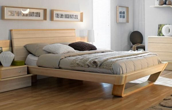 Shannon Collection Wooden Bed Design