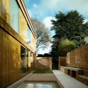 Small Courtyard With Outdoor Patio Tradional Dublin House