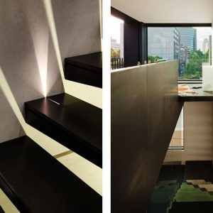 Small House Wooden Stair Design
