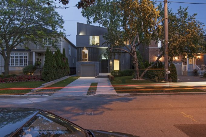Street View Streetfront House Design Contemporary House Design