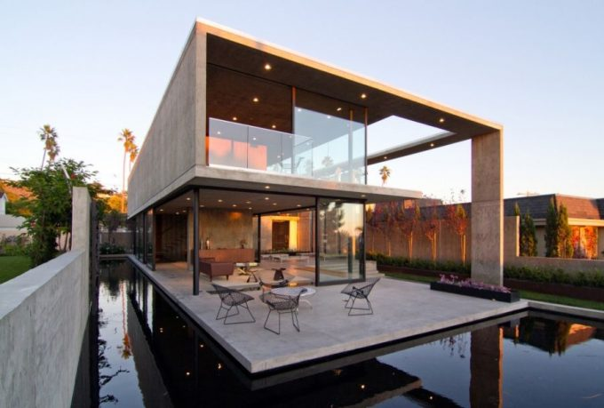 The Cresta Residence In San Diego California Outstanding House With Ponds Decor