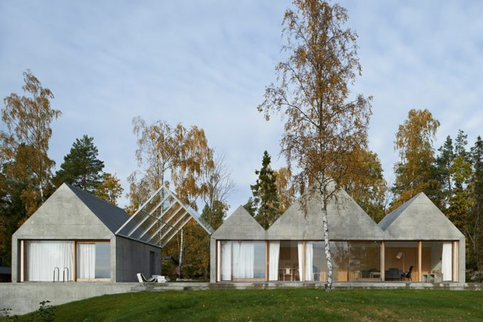 View Summer House Sweden With The Green Evirontment House Natural House Design