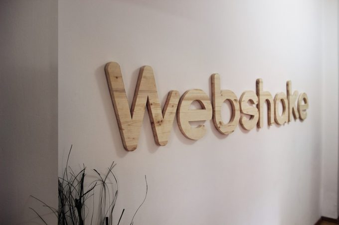 Webshake Icon Made Of Wood