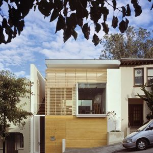 Architecture Residence In San Francisco Modern House Design Streetfront House Design