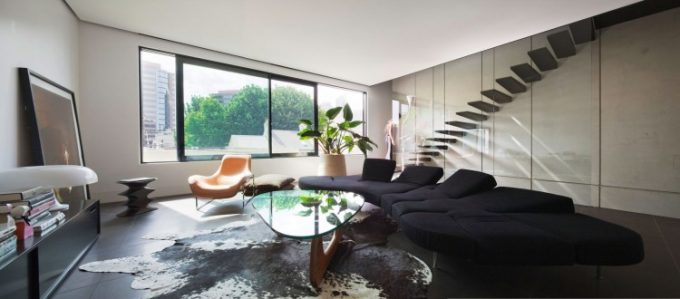Awesome Living Room Decor With Black Sofa Bed Design Ideas