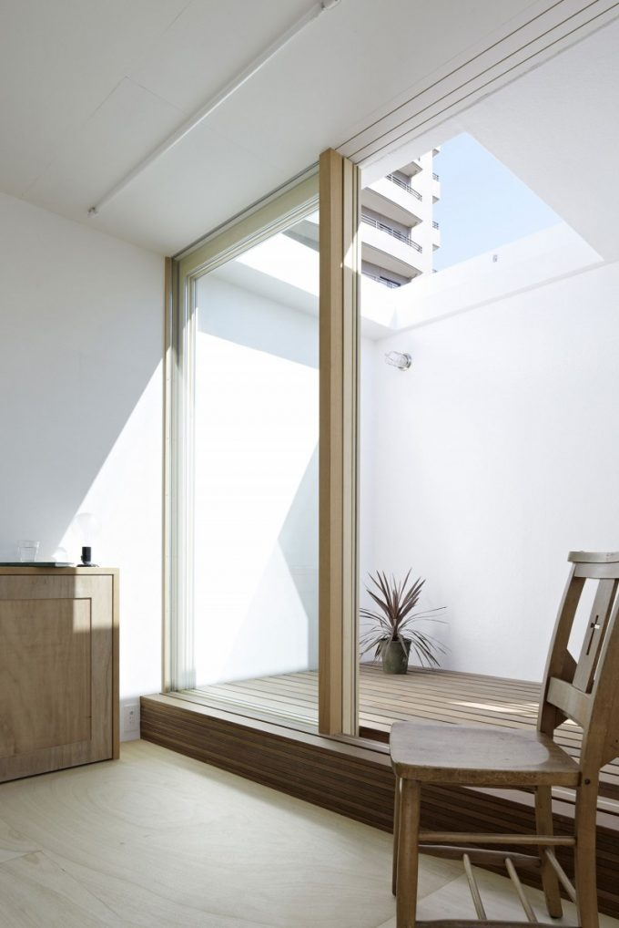 Glass Roof And Open Roof Design Japan House Design