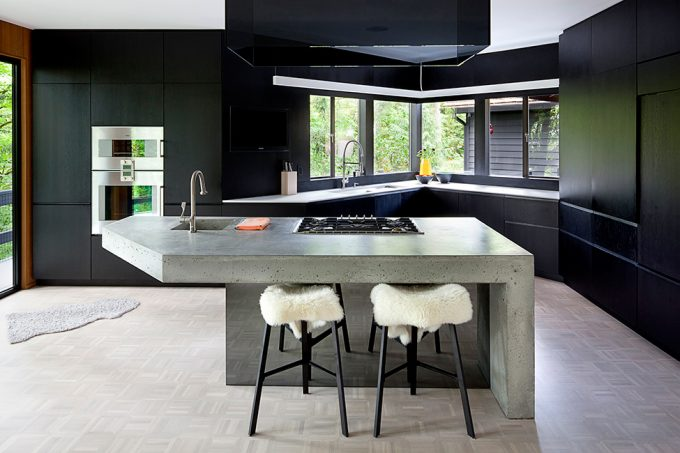 Modern Interior With Toned Down Background Minimalist Kitchen Design