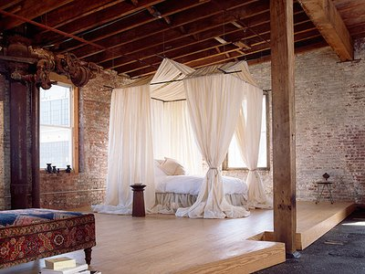 Rustic Loft Design Open Space Room Decor Classic Furniture