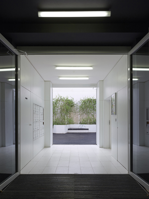 The Corridor Shows The Building Renovation