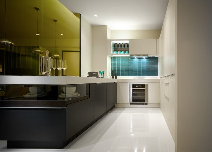 The Kitchen Island With Sleek And Sophisticated Style
