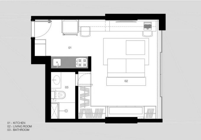 The Plans Minimalsit Apartment Decor