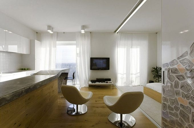 The Sliding Door Of Room Partition Decor For Larger Room