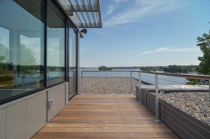 The Terrace With Lake View Luxury Lakefront House