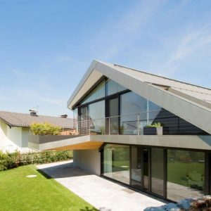 Two Story Villa Design With Green Surrounding And Eco Friendly Touch