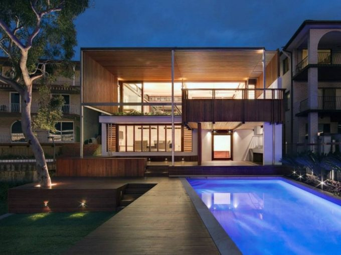 Two Story Wooden Harbour House Luxury House Design
