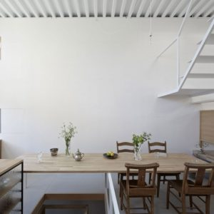 Wooden Dining Furniture Minimalist Dining Space Design