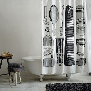 Apothecary Shower Curtain From West Elm With Old Product Pictures