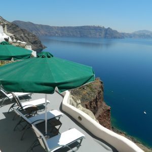 Aris Caves Terrace With Relaxing Blue Sea View