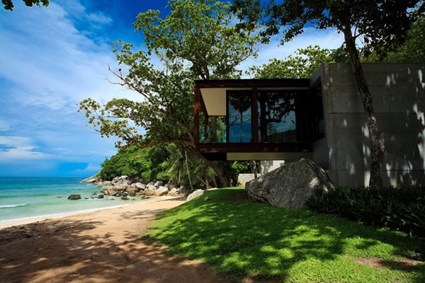 Beautiful View Beaches Hanging House Design Perfect Spot To Relish The Beautiful Beach View Relish Naka Phuket Resort