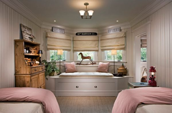Classic Bedroom Design Incorporating Custom Designed Trundle Bed At Its Heart Cool Extra Bed Design
