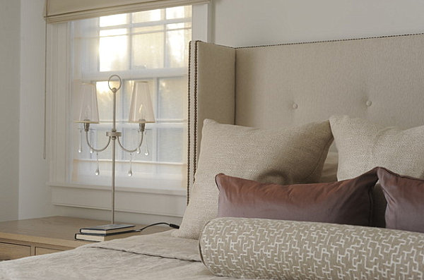 Contemporary Hamptons Bedroom Use Neutral Color For Small Bedroom