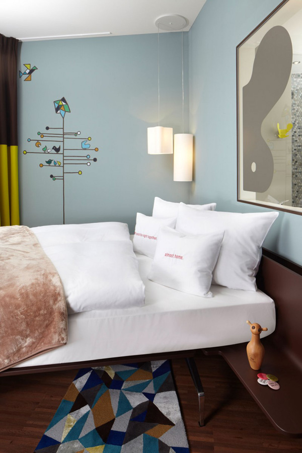 Detail Bedroom With Comfu Bed And Home Like Interior Decor