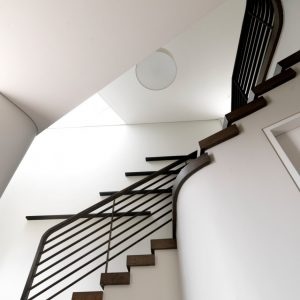 Details Of Modern Staircase Sleek And Vibrant Interior Design