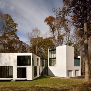 Graticule House Contemporary House Design With Green Environtment