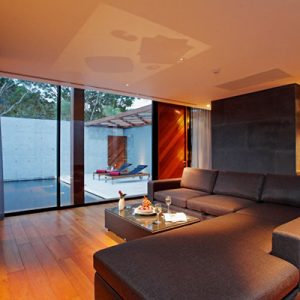 Grey Couch Living Room Spacy Living Foor Cool Living Space Luxury Villa Design In Thailand