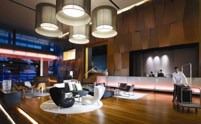 Interior Design Of Five Star Hotel Lobby Hotel That Serving With The Modernization And Modest Interior Also Stunning Architecture