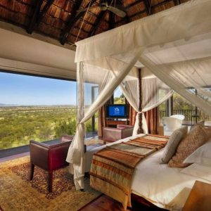 Lodge Bilila Resort With Contemporary Bedroom Design With Stunning Serengeti National Park In Tanzania