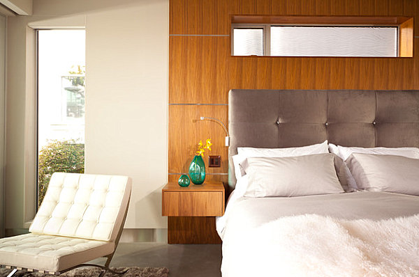 Make A Statement With Nightstand Decor Comfy Headboard For Reading Before Fall To Sleep