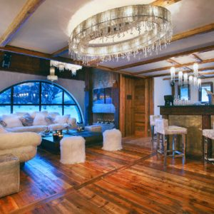 Marco Polo Downstairs Bar Cozy Bar With Expansive Wooden Interior Design