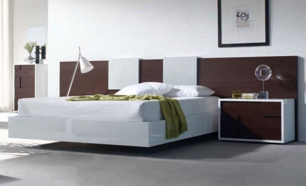 Contemporary Bed Design bedroom: interesting contemporary bed design built in storage
