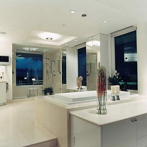 Modern Luxury Bathroom With Colorful Details And Cool Room Arrangement With Few Furniture How To Make Clean Look Bathroom