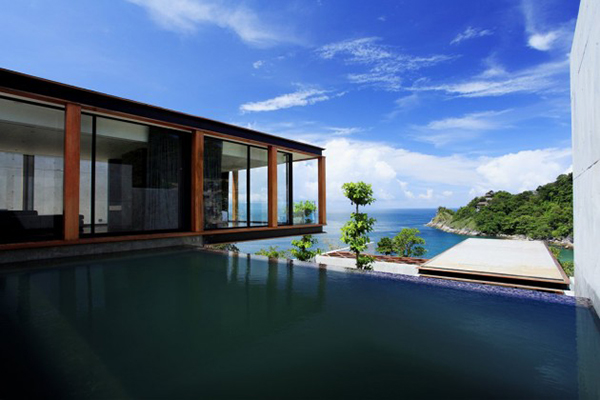 Pool And View Naka Resort Pool With Outstanding Sea View Luxury Villa In Phuket