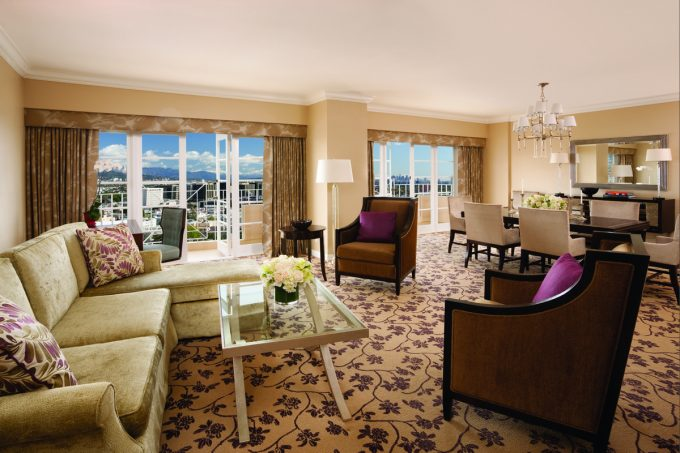 Premier Suite Has Lounge Space And Dining Space Superb Elegant Bedroom Hotel