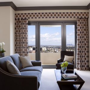 Presidential East Suite Brown Themed Furniture With Soft Color Interior
